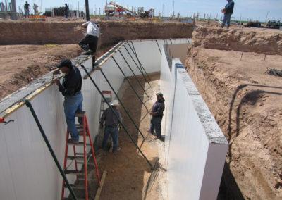 Tunnel-concrete-pour